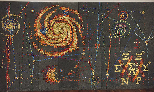 Mosaic based within the Department of Physics