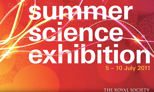 Titles of the Royal Society's Summer Science Exhibition 2011